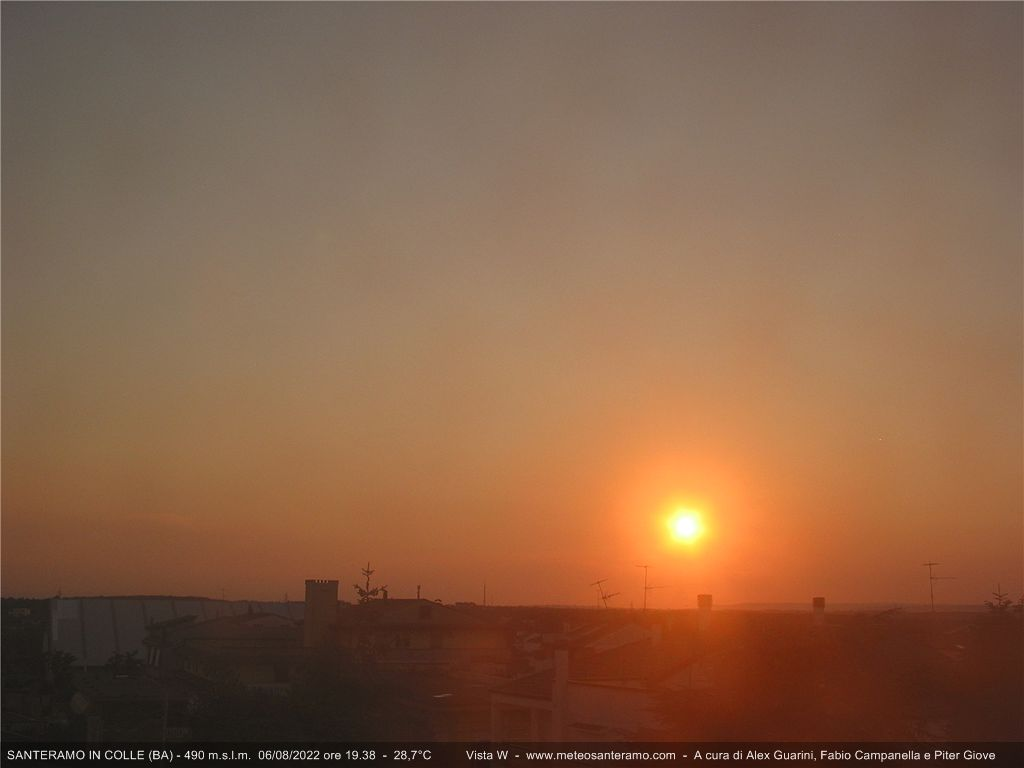 Webcam Santeramo in Colle - Meteo Santeramo